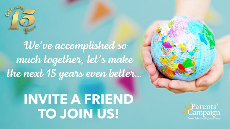 Ask at least one friend to join us in building a brighter future for Mississippi children.