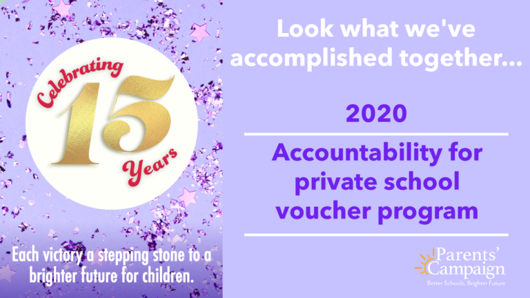The ESA private school voucher program, which operated for years with no accountability, was fraught with problems. In 2020, legislators worked with us to narrow the program and add badly-needed protections for Mississippi children and taxpayers.